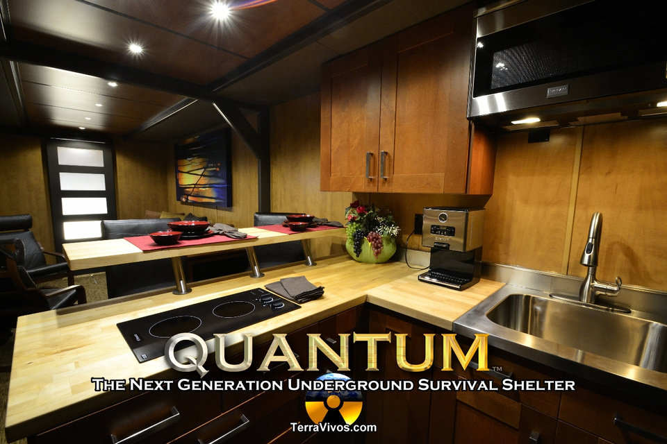 Photo - Vivos Shelters is building an enormous private underground shelter in Kansas. The shelter is large enough to house 5,000 people with survival supplies for a year. Photo provided