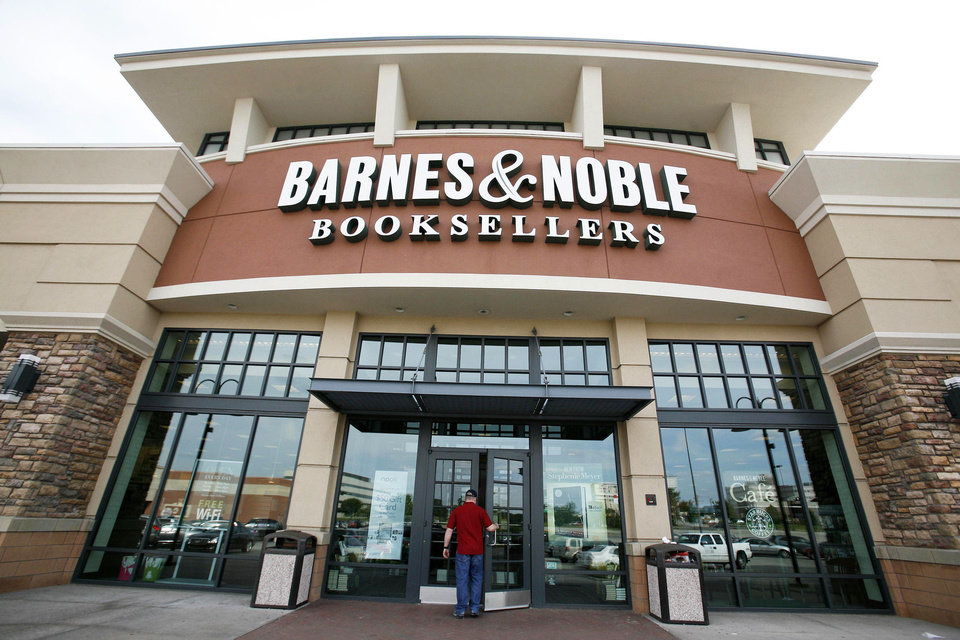 FILE - In this June 8, 2010 file photo, a customer enters a Barnes & Noble in Bethel Park, Pa. Barnes & Noble Inc. on Thursday, May 19, 2011 said that online retail, media and communications conglomerate Liberty Media Corp. offered to buy the book seller for $17 per share in cash. That amounts to about $1.02 billion, based on the number of shares it had outstanding as of March. (AP Photo/Gene J. Puskar, File) ORG XMIT: NY125