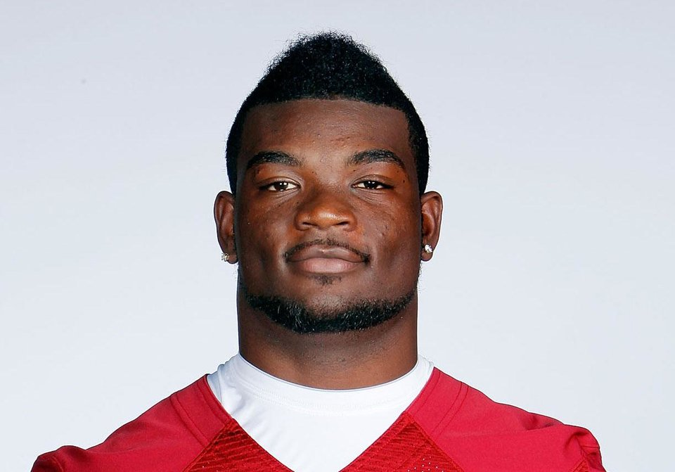 Damien Williams. University of Oklahoma (OU) College Football 2012 mugshots.  Photo by Ty Russell