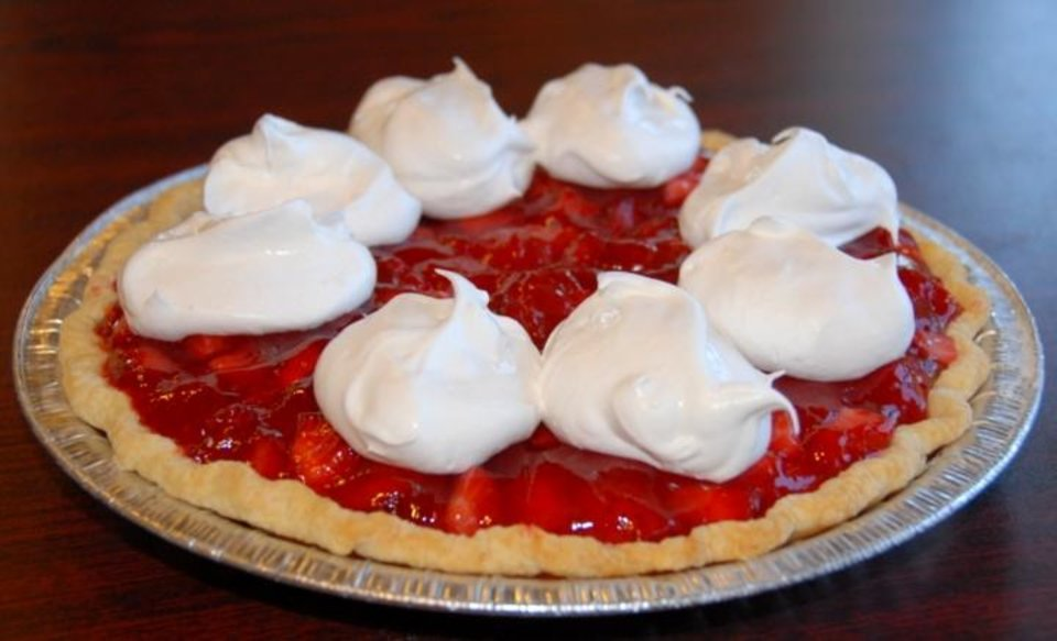 Photo - Southern Belle's Famous Strawberry Pie. (Photo provided)