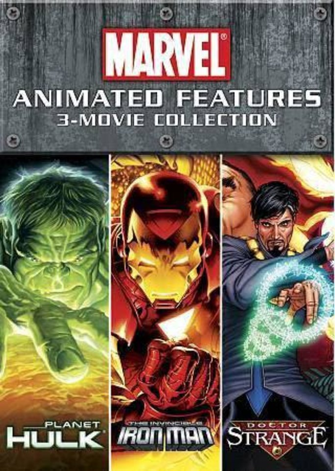 Marvel Animated Features 3-Movie Collection DVD