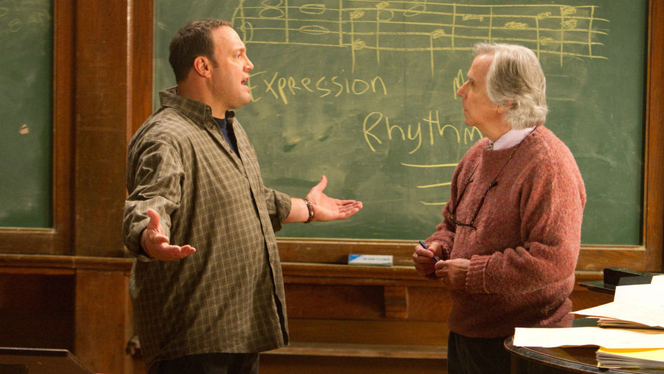 "Kevin James and Henry Winkler in ""Here Comes the Boom."" Sony Pictures Entertainment. <strong></strong>"