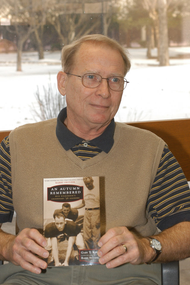Rose State College psychology professor Gary King publishes '56 OU football team.<br/><b>Community Photo By:</b> Steve Reeves<br/><b>Submitted By:</b> Donna, Choctaw