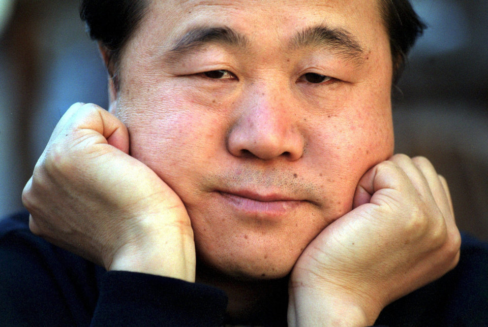 FILE -This is a May 2001 file photo of Chinese writer Mo Yan, taken in Stockholm, Sweden. Mo won the 2012 Nobel Prize for literature on Thursday Oct. 11, 2012 . (AP Photo/Scanpix Sweden /Peter Lyden, File) SWEDEN OUT