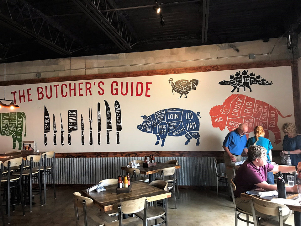 Photo - The Smoking Boar opened last week in northwest Oklahoma City. [Dave Cathey/The Oklahoman]