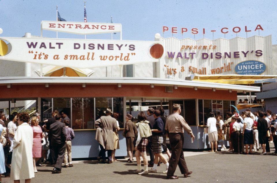 Photo - This 1964 photo released by Disney shows people at the