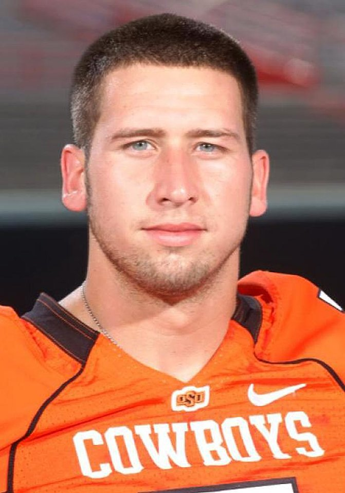 Photo - OSU COLLEGE FOOTBALL PLAYER: In this undated photo released Oklahoma State University, wide receiver Bo Bowling is shown. Bowling was suspended from the team Wednesday, Feb. 11, 2009, after he was arrested on felony drug charges. The senior-to-be from Tonkawa, Okla., pleaded not guilty in Payne County (Okla.) District Court on Tuesday, Feb. 10. He is free on $2,500 bond and due back in court March 2 for a preliminary hearing. (AP Photo/Oklahoma State University) ** NO SALES, EDITORIAL USE ONLY ** ORG XMIT: NY169