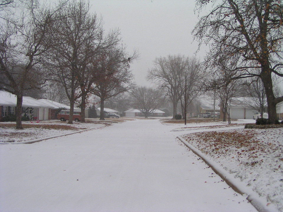 I will try to keep you updated here in MWC ... Its cold out there.. lol<br/><b>Community Photo By:</b> Luwanna Baker<br/><b>Submitted By:</b> Luwanna, Midwest City