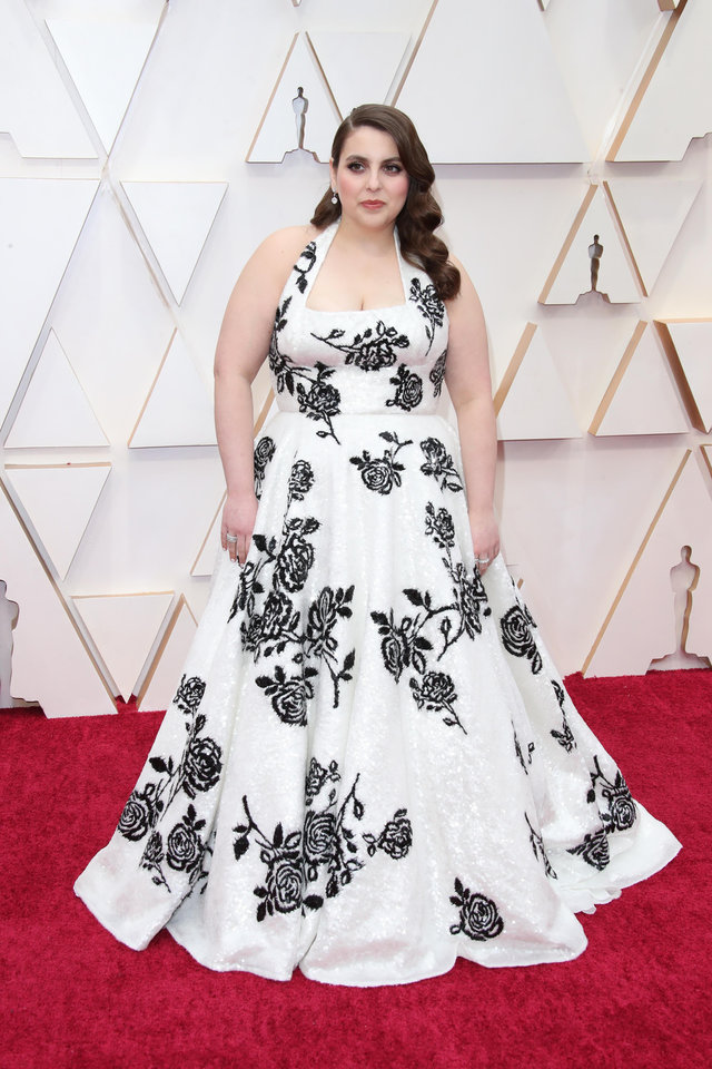 Photo - Feb 9, 2020; Los Angeles, CA, USA; Beanie Feldstein arrives at the 92nd Academy Awards at Dolby Theatre. Mandatory Credit: Dan MacMedan-USA TODAY