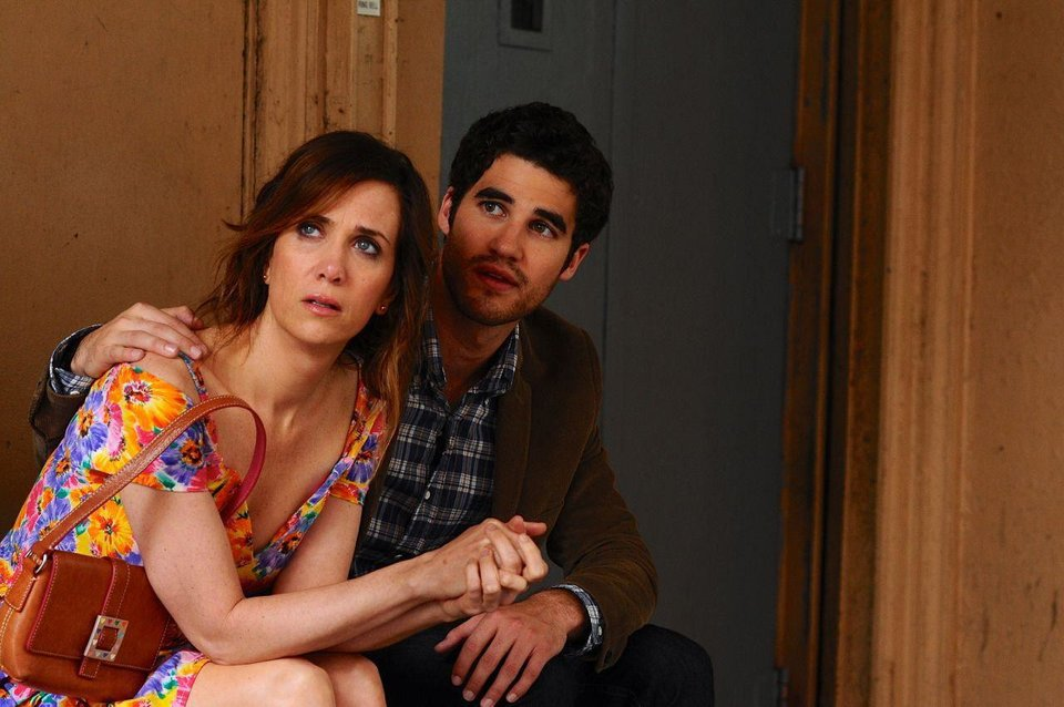 "Kristen Wiig and Darren Criss star in ""Girl Most Likely."" PHOTO PROVIDED <strong></strong>"