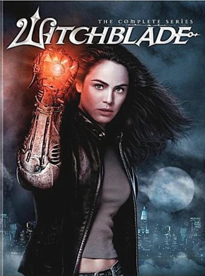Photo -  Witchblade DVD cover, Yancy Butler