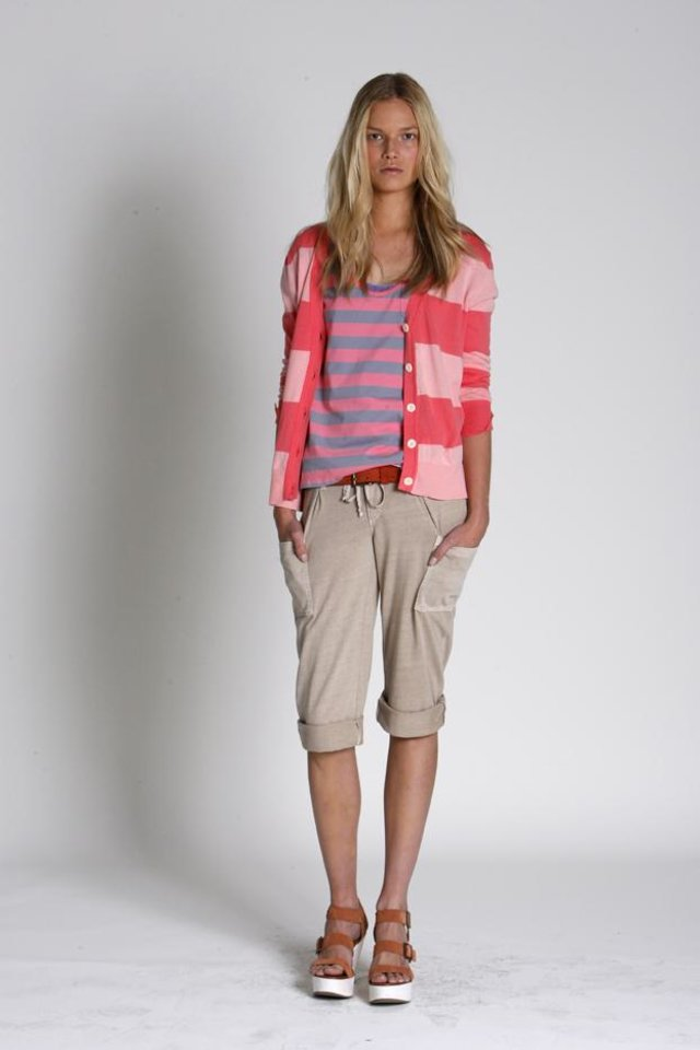 Photo - Stripe cardigan and tank from Gap