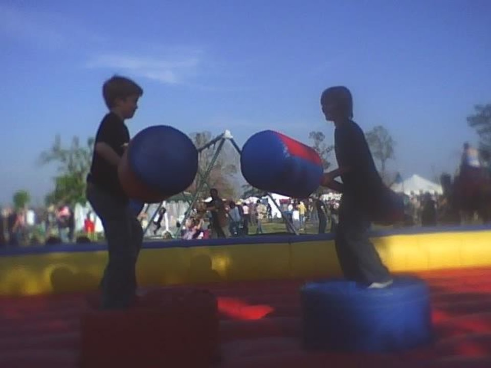 LITTLE JOE AND KASH at midevil fair<br/><b>Community Photo By:</b> TAMA<br/><b>Submitted By:</b> Tama, Midwest