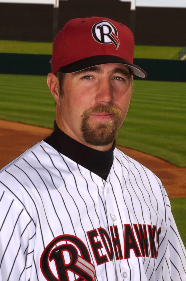 MINOR LEAGUE BASEBALL: Oklahoma Redhawks:  R.A. Dickey.  Staff Photo by Steve Sisney