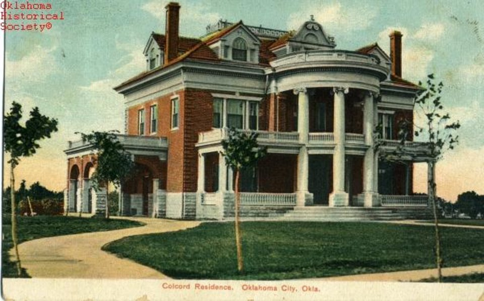 Photo -  The Colcord Mansion was perhaps the biggest loss suffered by Heritage Hills.