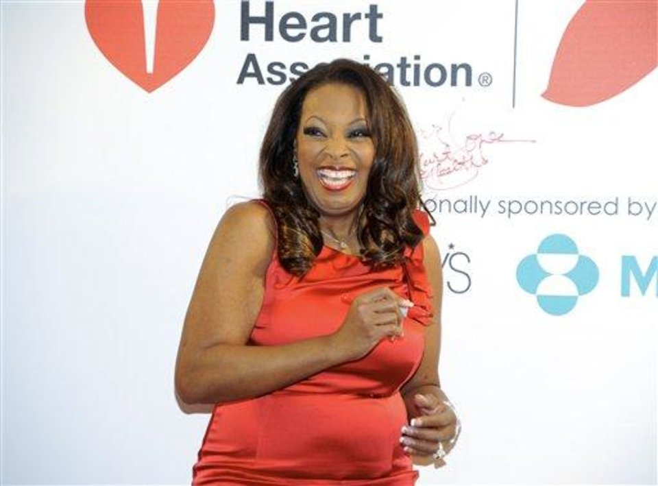 Photo - FILE - In this Feb. 3, 2012, file photo,. tlevision personality Star Jones makes an appearance to promote the national