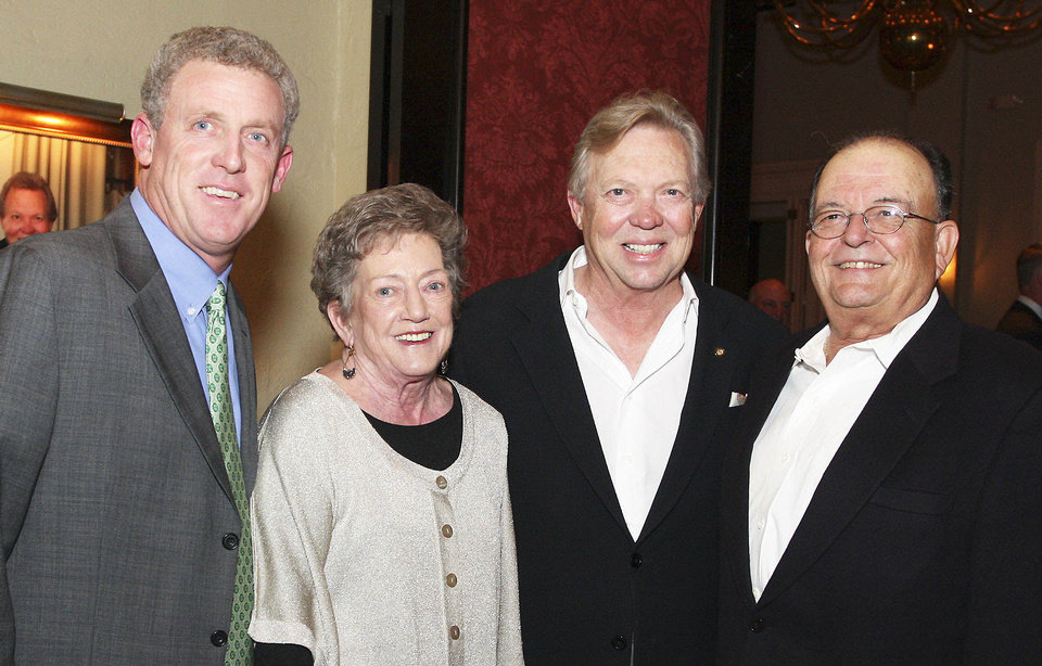 Photo - Tim Fleming, Patty Casteel, Chuck Ainsworth, Len Casteel.