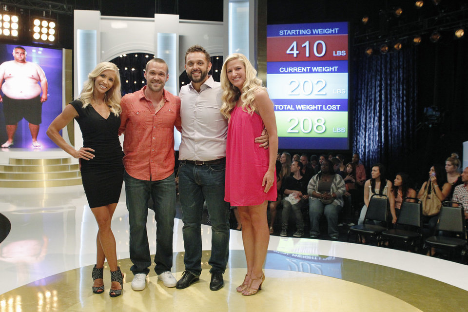 "Photo -  Former Marine Kenny, second from right, was a participant on the television series ""Extreme Weight Loss."