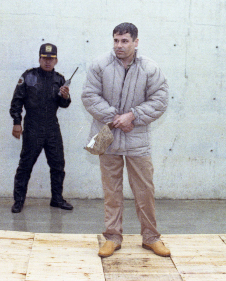 Photo - FILE - In this June 10, 1993 file photo, Mexican drug lord Joaquin