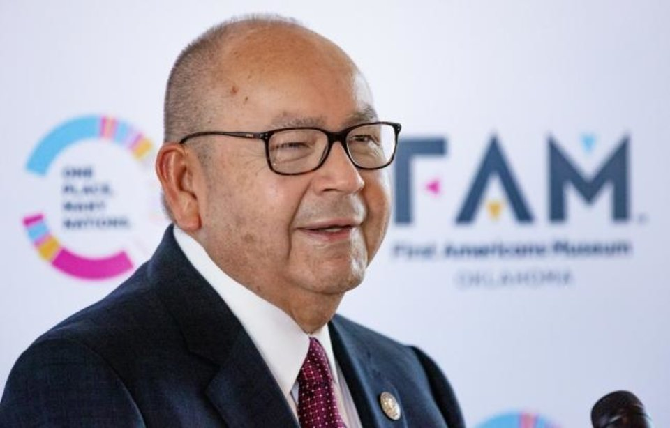 Photo -  Chickasaw Nation Gov. Bill Anoatubby