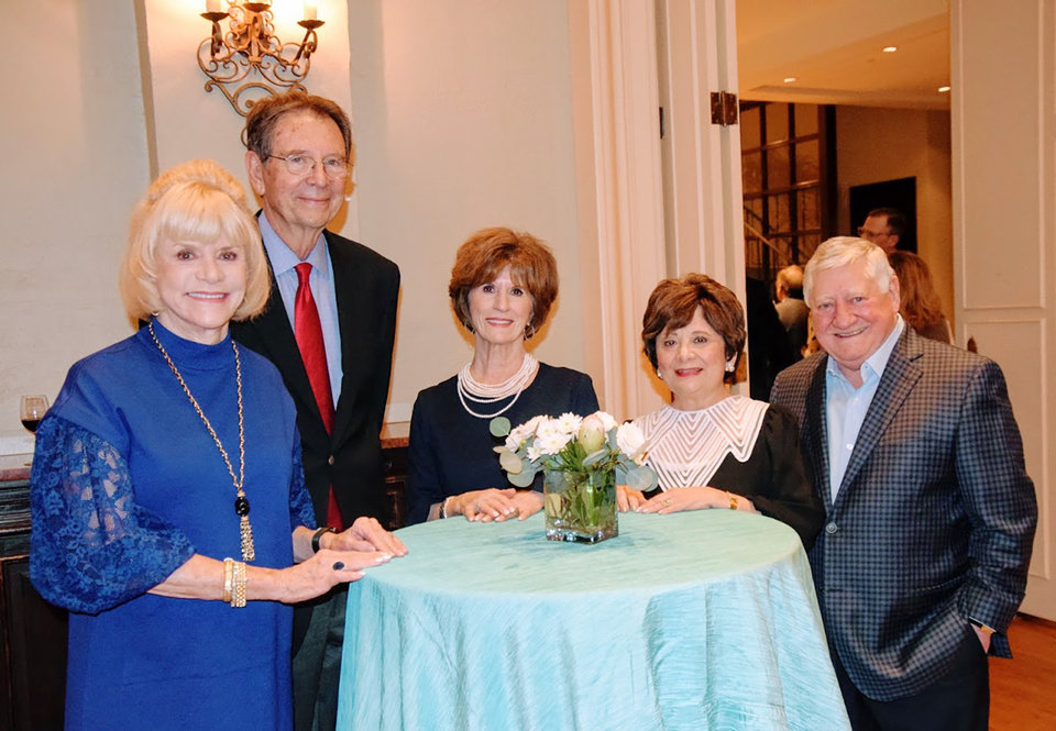 Photo - Judy Love, Bob Williams, Barbara Brou, Sylvia and Bob Slater. PHOTO PROVIDED