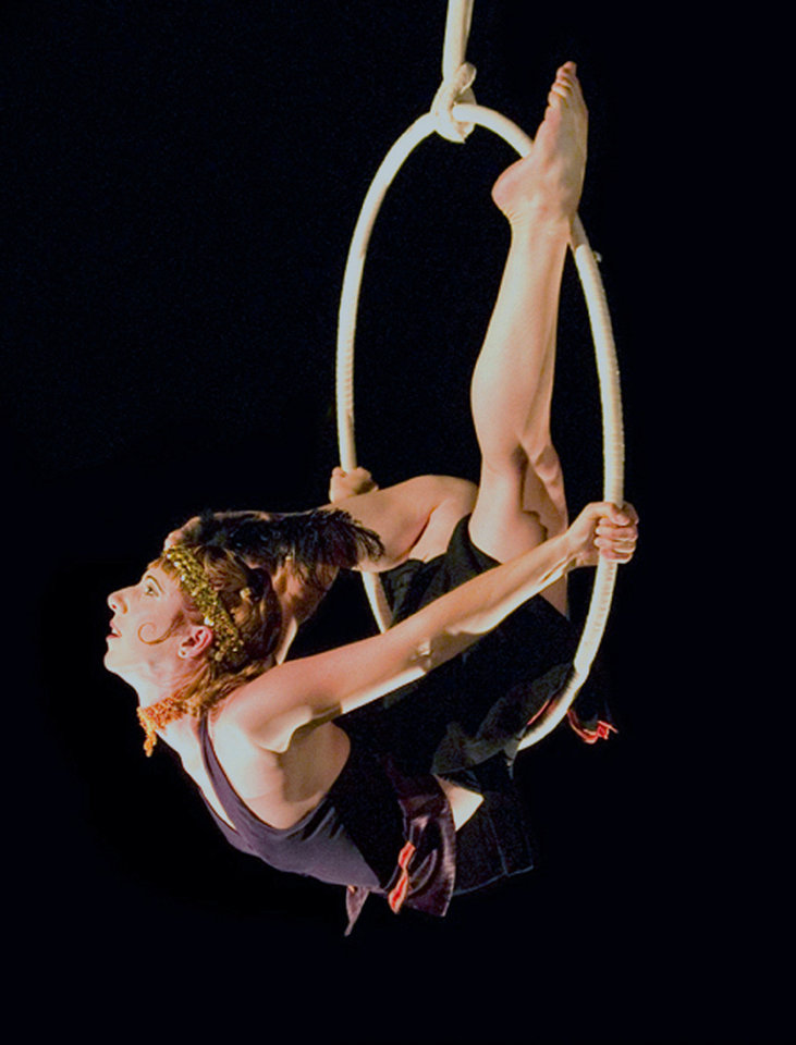 "Aloysia Gavre in a scene from ""Cirque de la Symphonie""   Photo provided <strong></strong>"