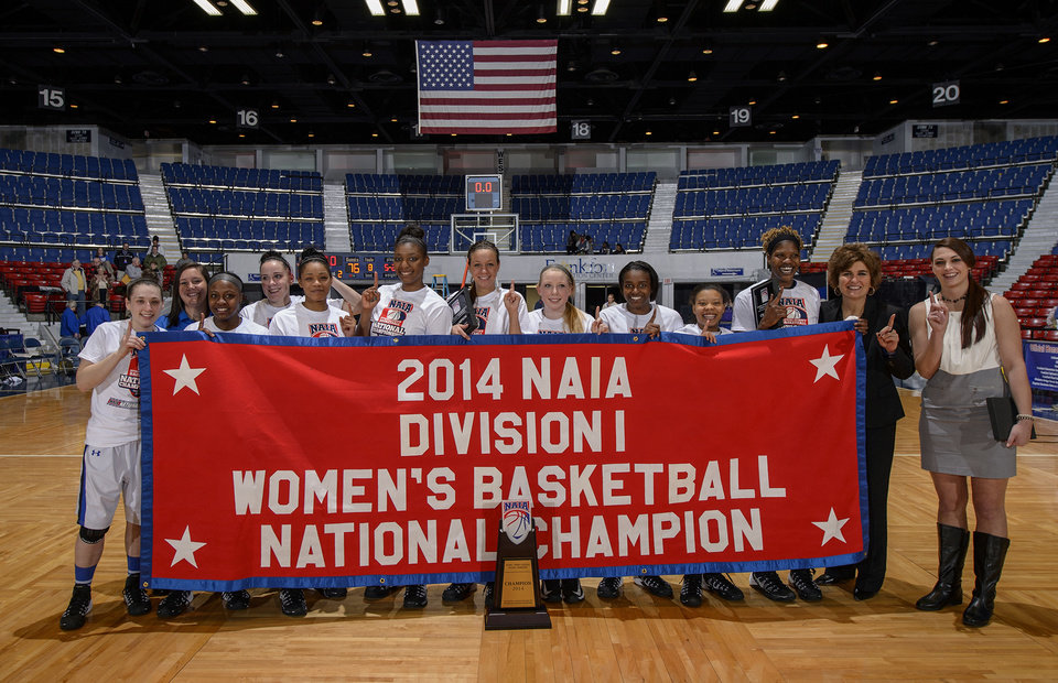 The NAIA champion Oklahoma City University women's team. PHOTO PROVIDED      <strong>Marvin Young Photographer</strong>