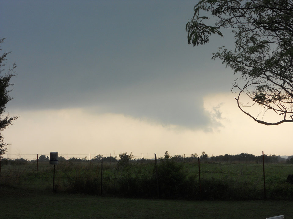 storm clouds, Elmore City, May 24, 2011