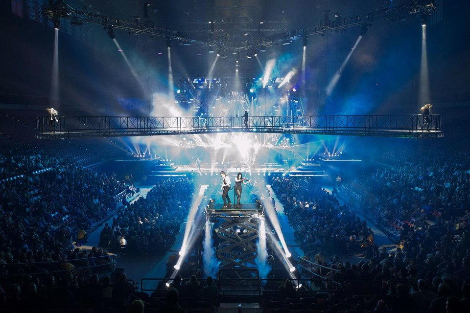 Holiday favorite Trans-Siberian Orchestra performs a 2011 show. Photo by Bob Carey. <strong></strong>