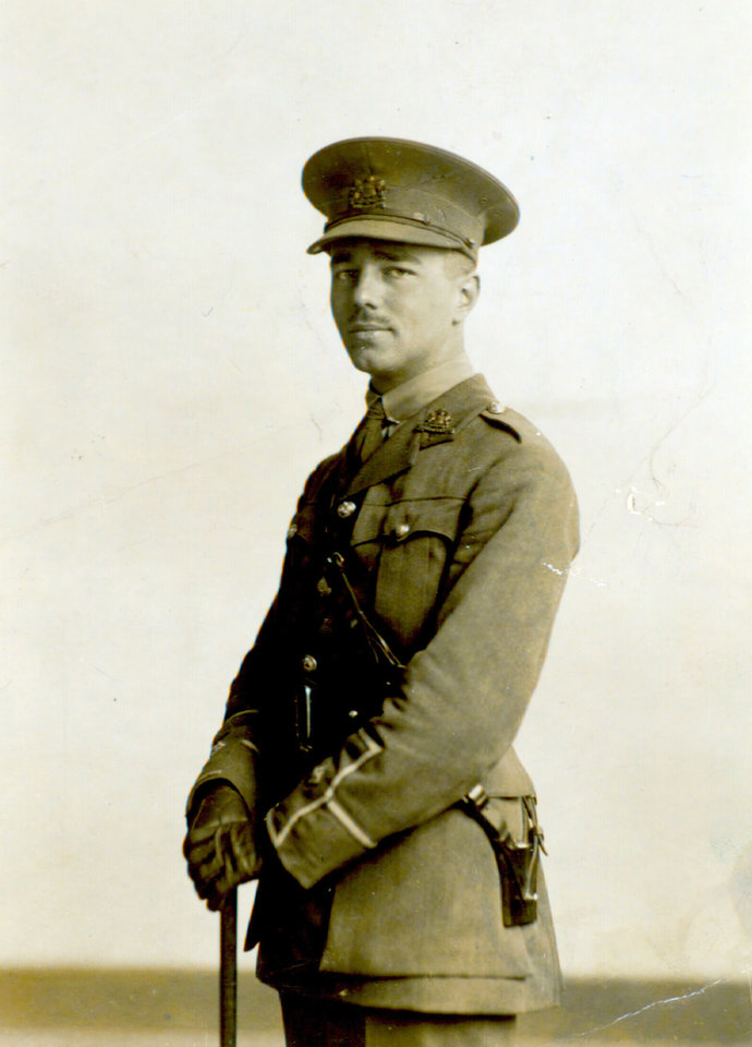Photo - In this undated photo provided by the Trustees of the Wilfred Owen Estate and the First World War Poetry Digital Archive, World War I soldier and poet Wilfred Owen poses for a photo in his uniform. World War I left behind an extraordinary legacy of art, music literature and film. Among anti-war poems, few were so bitter, or indelible, as Owen's
