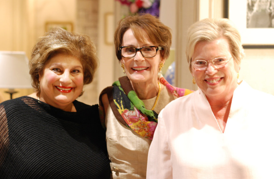 Photo - Cindy Homsey, Susan Hoffman, Sally Bentley. PHOTO BY NICK BENTLEY, FOR THE OKLAHOMAN