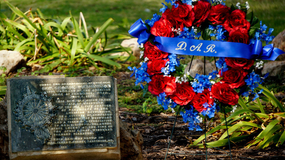 Photo - Wreath at the marker. PROVIDED PHOTO