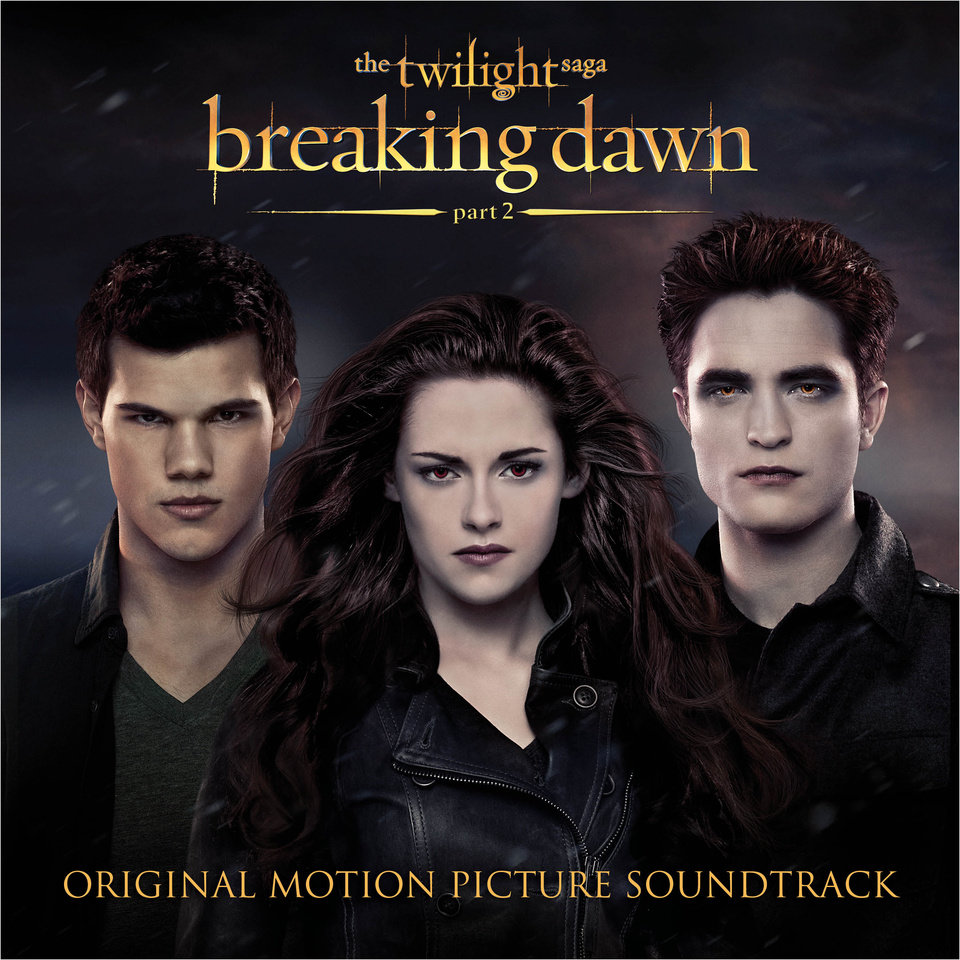"This CD cover image released by Atlantic records shows the original motion picture soundtrack for ""The Twilight Saga: Brealing dawn Part 2."" (AP Photo/Atlantic) ORG XMIT: NYET119"