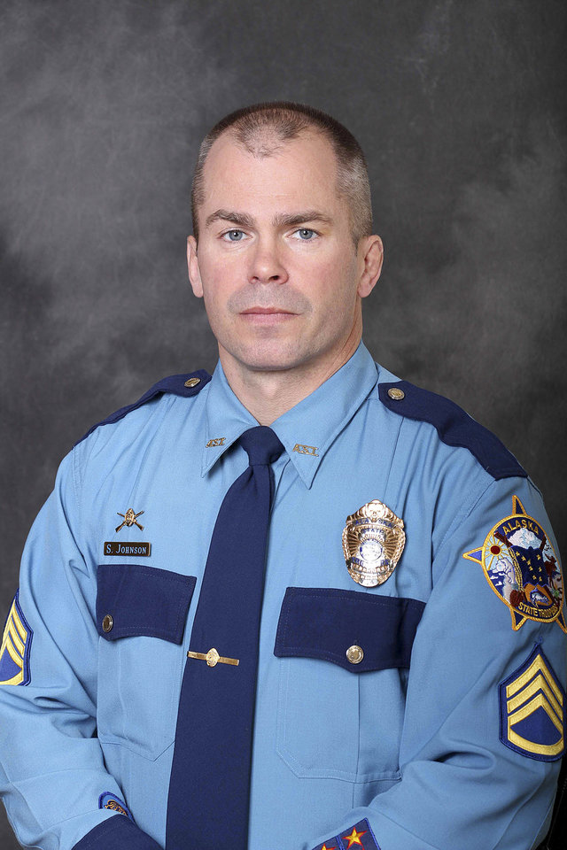 Photo - This undated photo released by the Department of Public Safety shows Sgt. Patrick