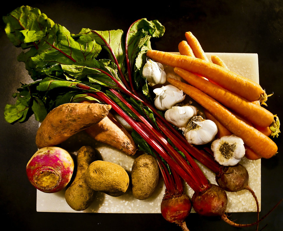 Root vegetables are in season. <strong>CHRIS LANDSBERGER - THE OKLAHOMAN</strong>