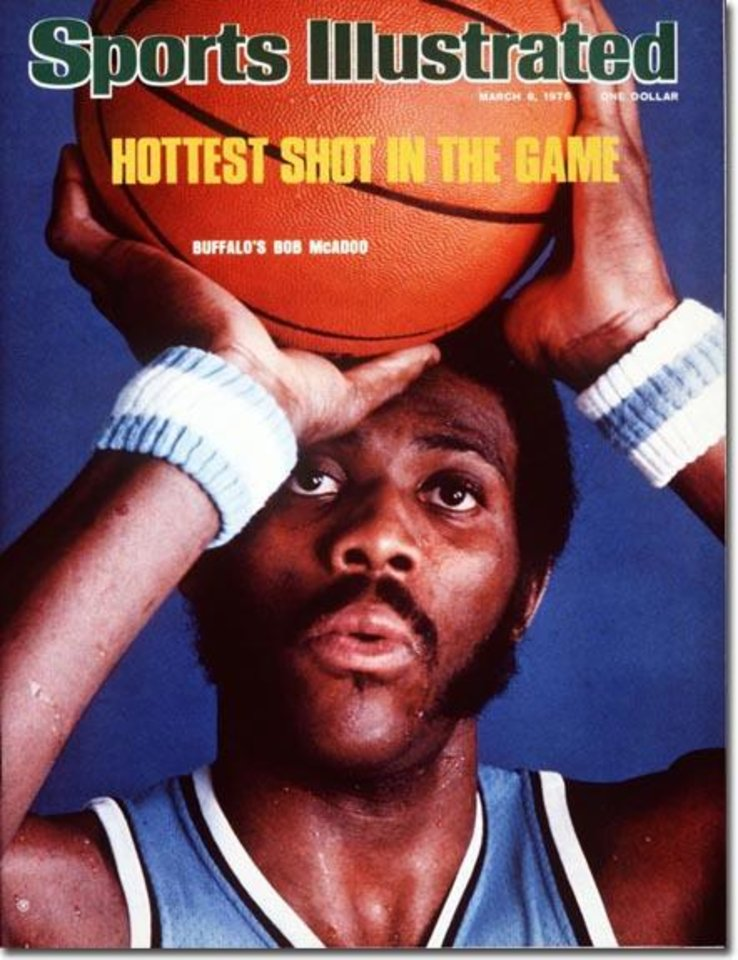 Bob McAdoo Buffalo Braves Basketball March 8, 1976 X 20284 credit:  Neil Leifer - staff