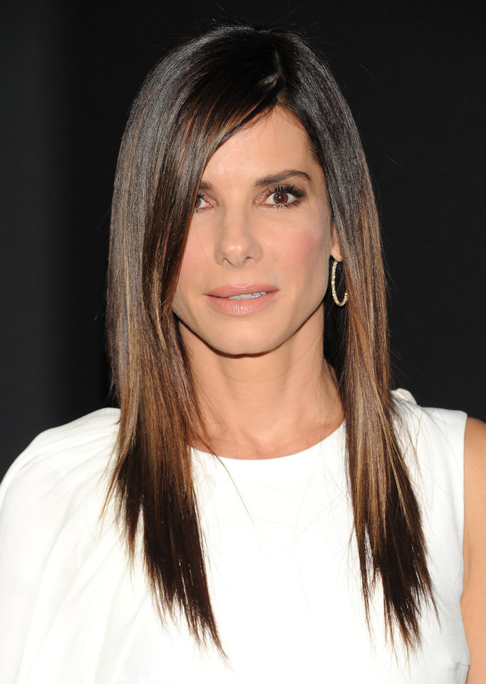 "Photo - Actress Sandra Bullock attends the premiere of ""Gravity"" at the AMC Lincoln Square Theaters on Tuesday, Oct. 1, 2013, in New York. (Photo by Evan Agostini/Invision/AP) ORG XMIT: NYEA105"