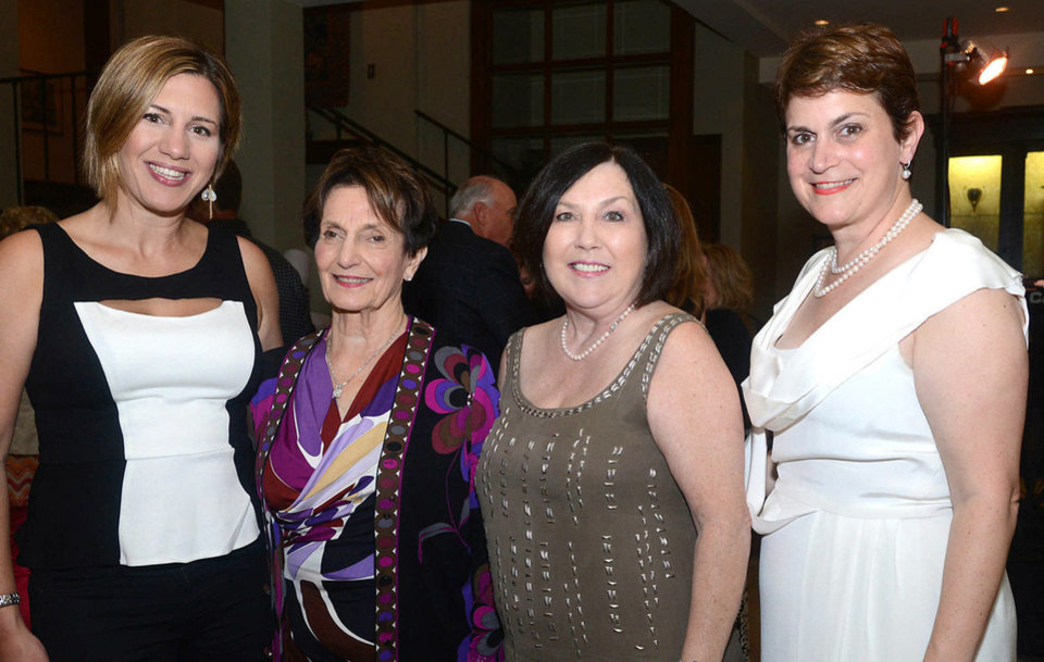 Photo - Nicole Tobin, Jeaneen Naifeh, Bonnie Naifeh, Jennee Lister. Photo by David Faytinger, for The Oklahoman