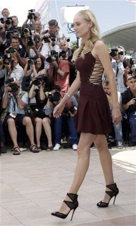 Photo - Member of the jury Diane Kruger attends a photo call for the members of the jury at the 65th international film festival, in Cannes, southern France, Wednesday, May 16, 2012. (AP Photo/Lionel Cironneau)