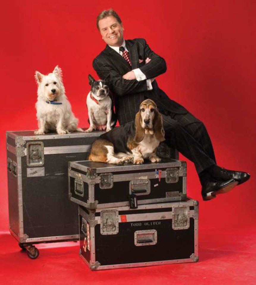 Photo - Branson entertainer Todd Oliver. Photo courtesy of the Branson/Lakes Area Convention and Visitors Bureau
