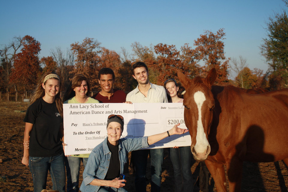 Hay is for Horses: OCU Students Assist Equine Rescue