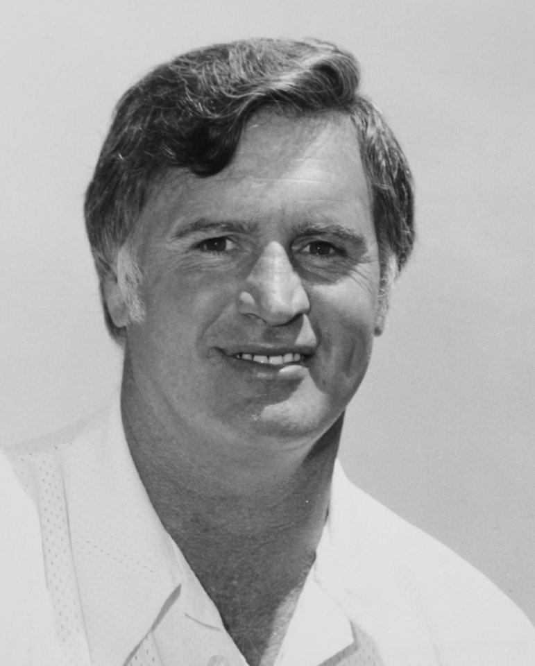 Photo - Aug. 27, 1978: Oklahoma State University (OSU) football coach Jim Stanley
