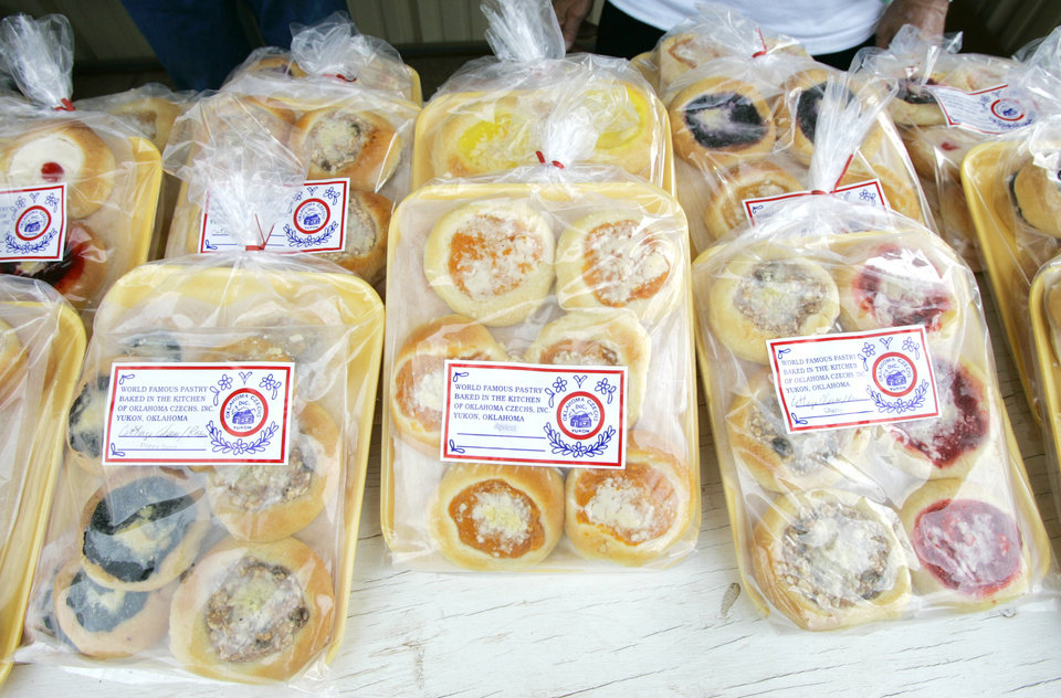 Kolaches for sale during the 2009 Czech Festival.  PHOTO BY STEVE GOOCH, OKLAHOMAN ARCHIVE