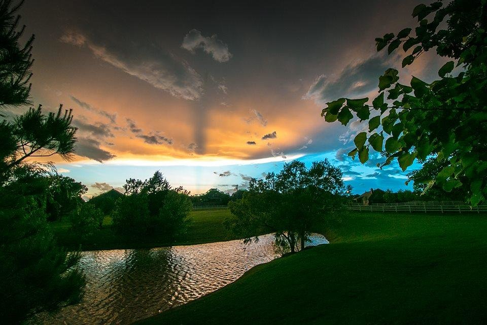 Photo - At the edge of the storm. Taken in north Edmond, OK on May 6, 2015. (Photo by Scott Horton) by Scott Horton #newsoknow #Weather