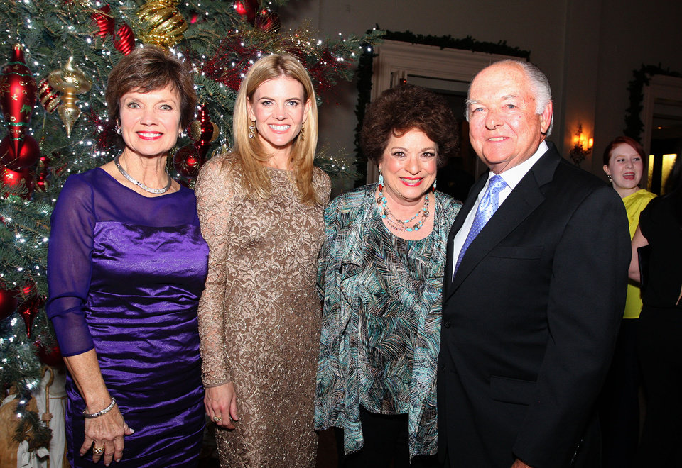 Janie Axton, Christy Counts, Sue Ann Hyde, Ron Norick. Photo by David Faytinger for the Oklahoman__