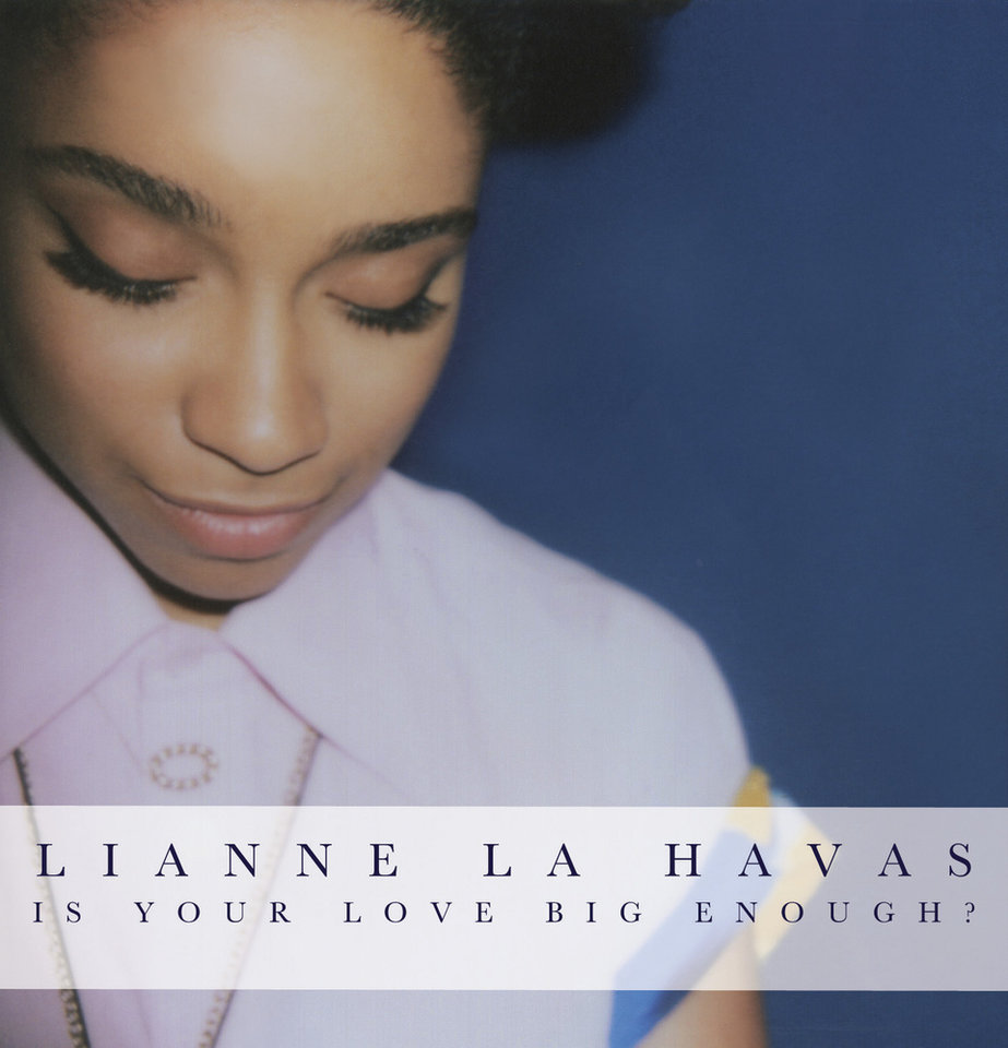 "This CD cover image released by Warner Bros. Records shows ""Is Your Love Big Enough?"" by UK singer Lianne La Havas. (AP Photo/Warner Bros. Records, File)"