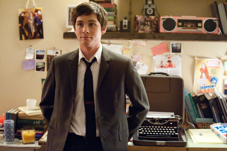 "This image released by Summit Entertainment shows Logan Lerman in a scene from ""The Perks of Being a Wallflower."" (AP Photo/Summit Entertainment, John Bramley)  ORG XMIT: NYET638"
