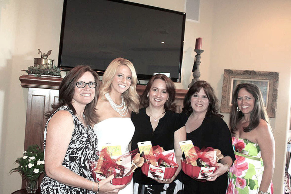 Photo - Andrea Jones, Alexis Hefner, Beckie Potts, Lisa Munz, Carol Hefner. PHOTO PROVIDED