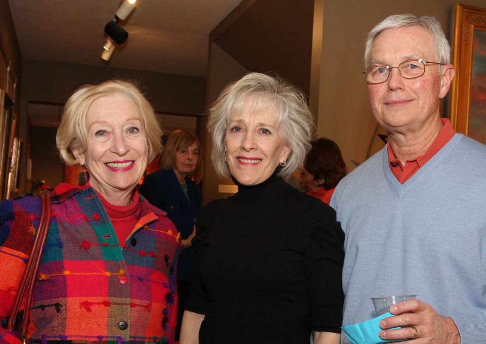 Photo - Mary Jane Calvey, Nancy and Joe Bradley