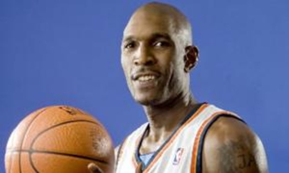 Joe  Smith of the Oklahoma City  Thunder poses for a portrait during the  Thunder media day on Monday, September 29, 2008. BY BRYAN TERRY